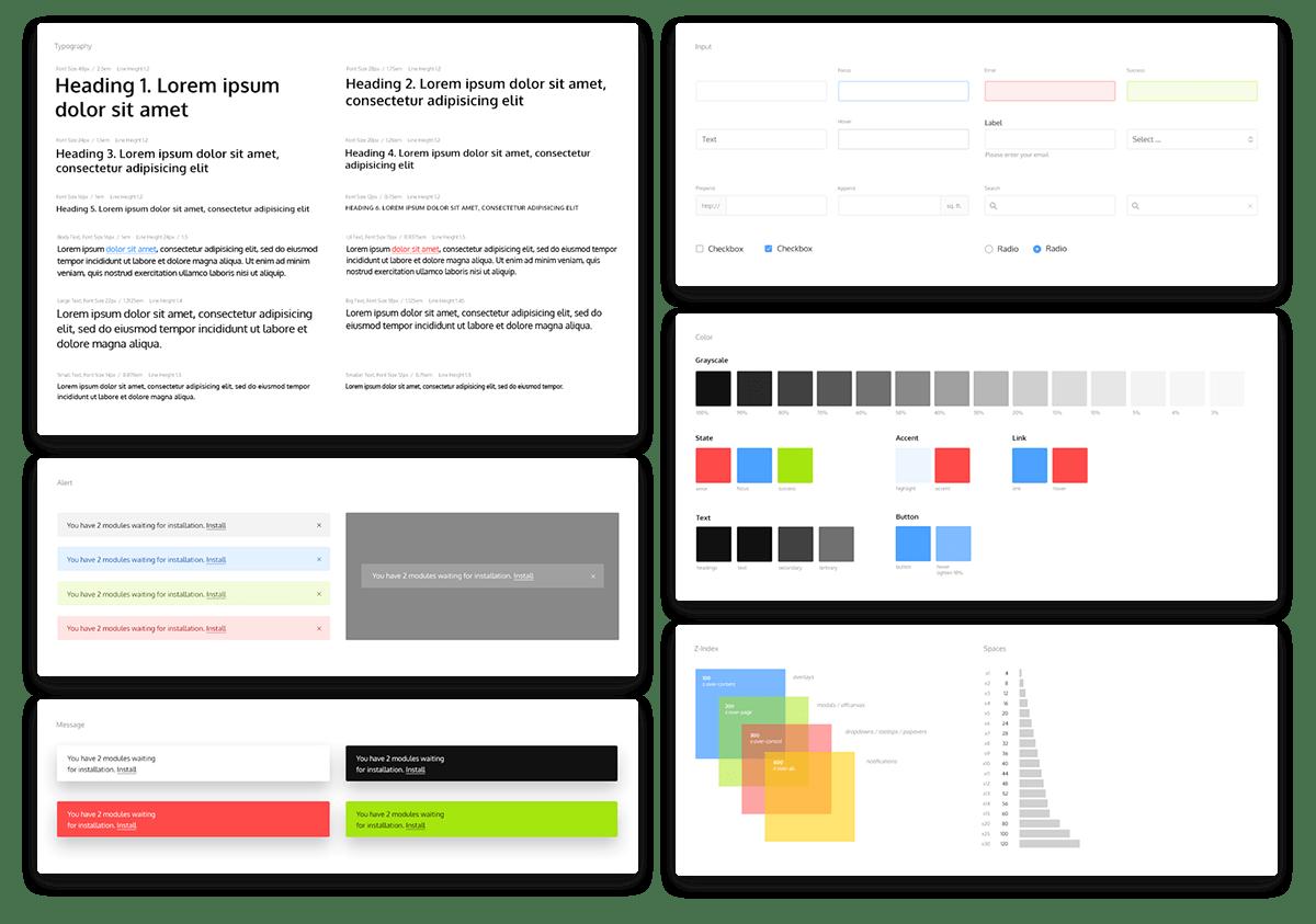 Kube Modular CSS JS Framework